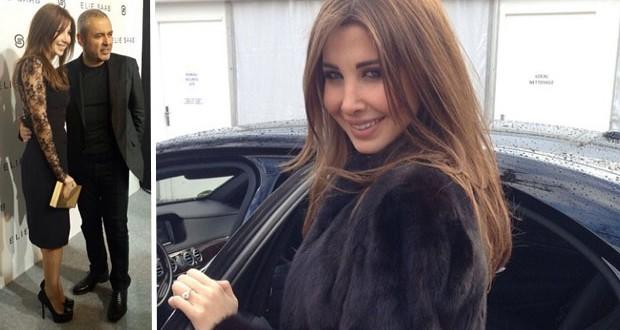 بالصور: نانسي عجرم مع زوجها في باريس وخطفت الأنظار في عرض إيلي صعب