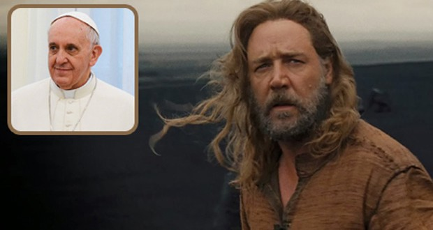 بابا الفاتيكان يلغي مقابلته مع طاقم عمل فيلم Noah
