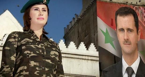 شقيقة أصالة، ريم نصري تغني لسوريا والأسد