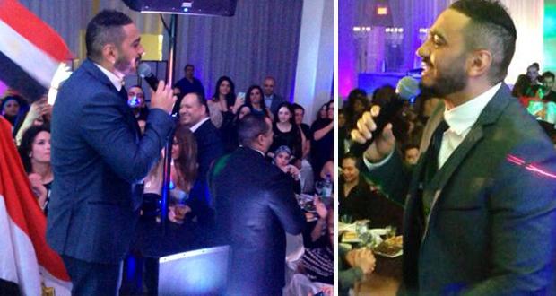 بالصور والفيديو: تامر حسني أحيا حفل أسطوري في مونتريال كندا
