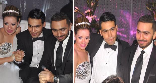 بالصور: تامر حسني ومحمد حماقي والنجوم في فرح إبن مجدي الشافعي