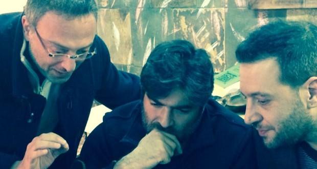 بالصورة: وائل كفوري في جلسة مع منير بو عساف وبلال الزين يحضّر لأغنيات الألبوم
