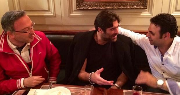 بالصورة: وائل كفوري في جلسة مع منير بو عساف وملحم أبو شديد وورشة العمل على الألبوم مستمرّة