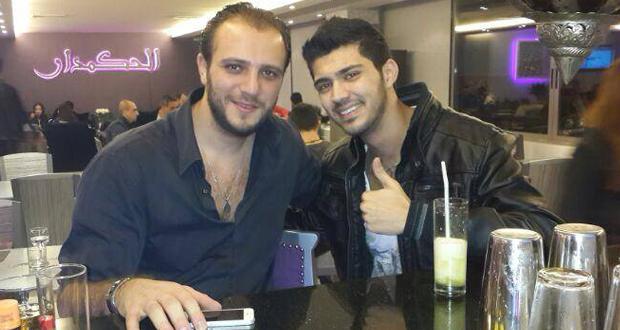 بالصورة: زكي شريف مع مدير أعماله سمير مولى فماذا يحضران؟