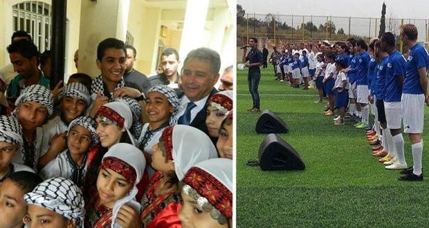 بالصور: محمد عساف أشعل ملعب كلية سبلين في لبنان والكفوفية إجتاحت المكان 442