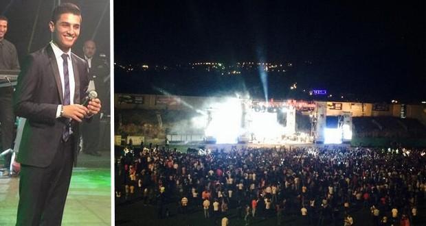 بالصور: محمد عساف أحيا أقوى الحفلات في الناصرة وجماهير 442 إحتشدت على وقع محبّته