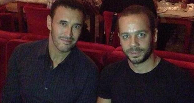 بالصورة: كاظم الساهر يحضّر لجمهوره أغنيات مميّزة مع ميشال فاضل