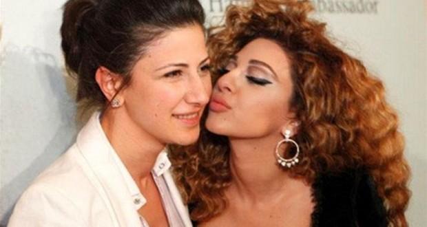 بالصور: ميريام فارس تحتفل بعيد ميلاد شقيقتها رولا