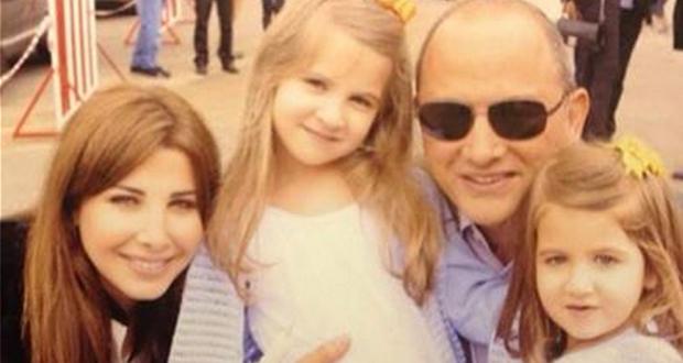 بالصورة: نانسي عجرم مع زوجها فادي هاشم وإبنتيها ميلا وإيلا في إحتفالات العيد