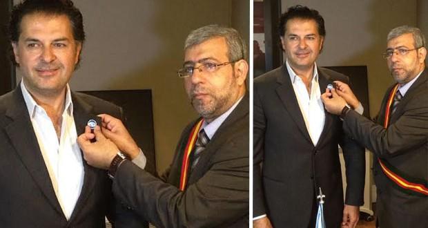 بالصور: تكليف راغب علامة مهمة جديدة على صعيد حقوق الإنسان