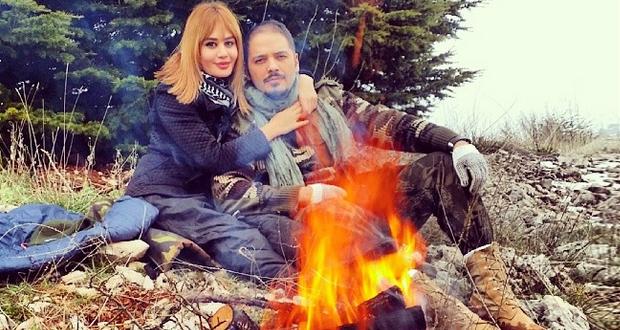 رامي عياش في لقطة حميمة مع زوجته داليدا وإعترافات حبّ خطيرة