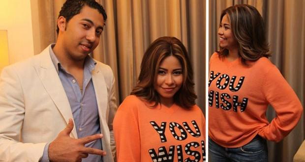 بالصور: شيرين عبد الوهاب تقوم بالتحضيرات لحفلها في إستاد القاهرة