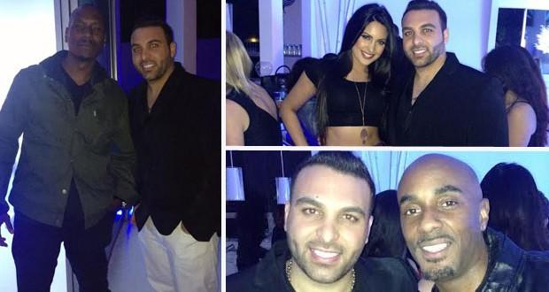 Tarik Freitkeh إحتفل بعيد ميلاد Akon في منزله بحضور مشاهير العالم