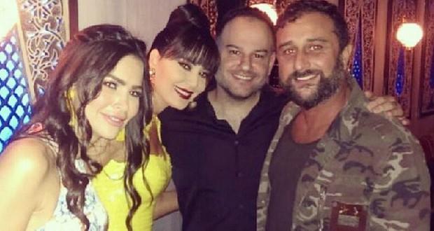 بالصور: سيرين عبد النور والأصدقاء في عيد ميلاد Mia Labiad