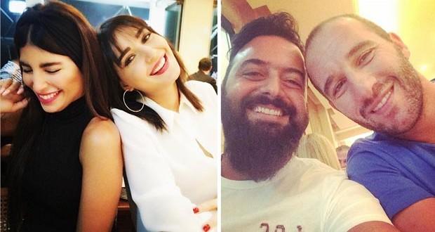 سيرين عبد النور مع زوجها فريد رحمة، ميشال وكوليت زيتون على العشاء في أجواء عفويّة مميّزة