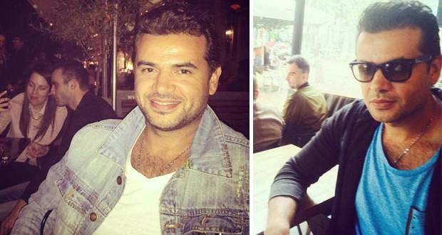 بالصور: سامو زين يتواصل مع محبّيه من اليونان وسجّل أغنية للألبوم الجديد