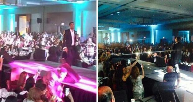 بالصور والفيديو: وائل كفوري ألهب واشنطن في أقوى الحفلات والجمهور فاق التوقعات
