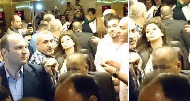 بالصورة: حشود جماهيرية إستقبلت إليسا في الأردن وتحيي أقوى حفلات جرش