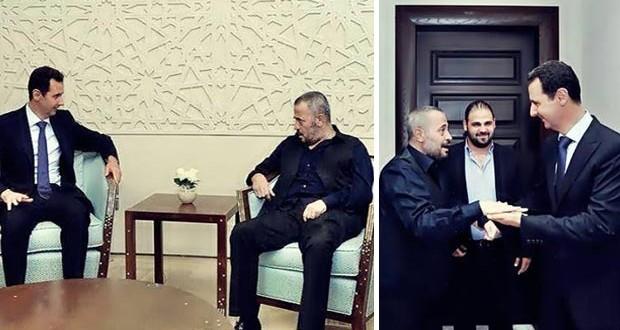 بالصور: جورج وسوف زار بشار الأسد وهذا ما دار بينهما