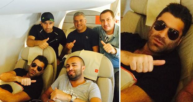 بالصورة: وائل كفوري عاد إلى بيروت حاملاً معه نجاحاً جديداً من جرش