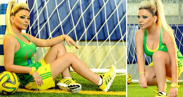 مادلين مطر: عشقي لفريق الـ Samba لن ينتهي وبعد 4 سنوات سأشجع البرازيل من جديد