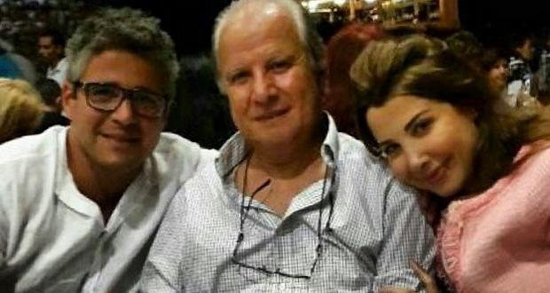 صورة بتجرد: نانسي عجرم مع والدها وشقيقها نبيل عجرم وإفطار عائلي مميّز
