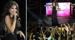 نانسي عجرم أميرة أشعلت أقوى حفلات مصر في شرم الشيخ والجماهير هتفت بإسمها حبّاً