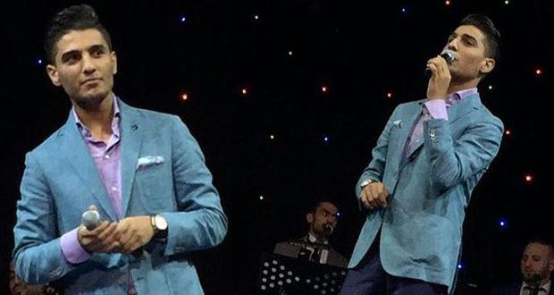 جمهور قطر إحتفل مع محمد عساف بأول أيام العيد