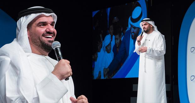 حسين الجسمي يشارك في ملتقى التواصل الإجتماعي لخدمة الإنسانية