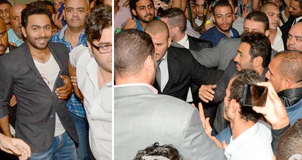مظاهرة حبّ إحتفالاً بفيلم تامر حسني – بالصور