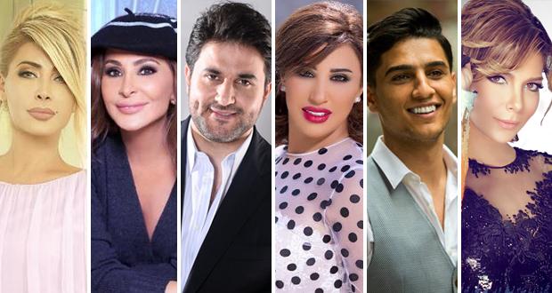 فنانون عرب في مرمى السياسة وبين القضايا والأحزاب