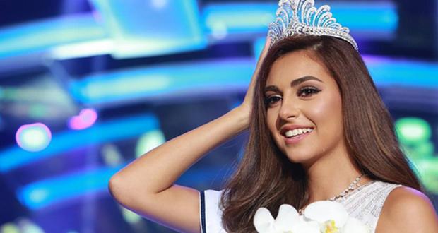 فاليري أبو شقرا ملكة على عرش الجمال اللبناني