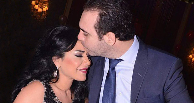 حب وغرام بين وائل جسار وزوجته