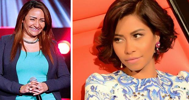 هل تعمدت شيرين إستبعاد متسابقة مصرية من The Voice؟