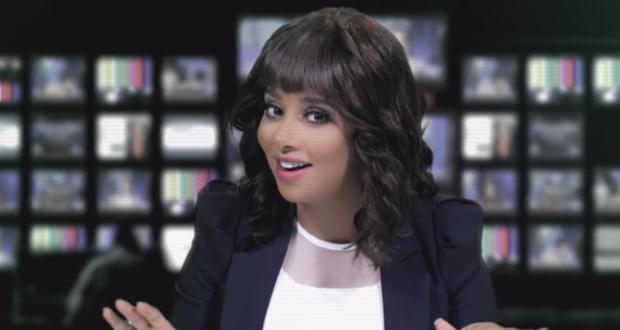 بلقيس فتحي مذيعة أخبار في أحدث كليباتها – بالفيديو