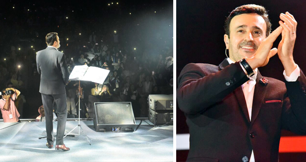 صابر الرباعي يتألّق ويطرب الجمهور في حفله الغنائي الأوّل بالمملكة