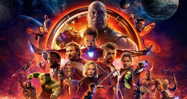 فيلم Avengers: Infinity War في الصدارة وهذا ما حققه بشباك التذاكر