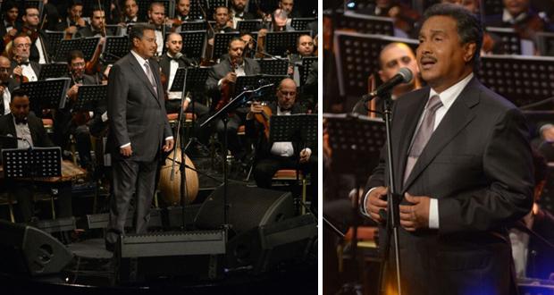 محمد عبده يطرب الجمهور في دار الأوبرا المصرية – بالصور