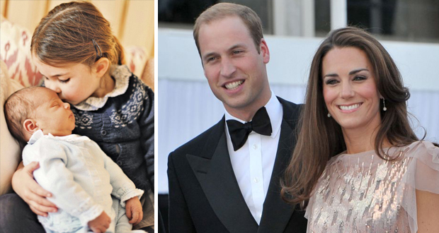 الصور الأولى للطفل الملكي البريطاني الثالث