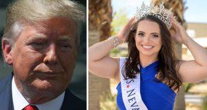 تجريد ملكة جمال من لقبها بسبب ترامب