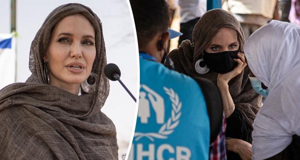 """أنجيلينا جولي تقدّم الدعم للاجئين في بوركينا فاسو: """"لم يسبق أن شعرتُ يوماً بالقلق"""""""