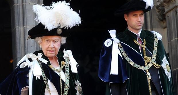 الملكة إليزابيث تهنئ الأمير ويليام بعيد ميلاده الـ39