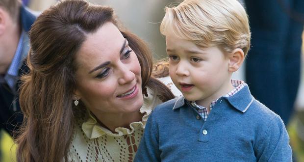 كيت ميدلتون تنشر صورة جديدة لابنها جورج إحتفالًا بيوم ميلاده الثامن