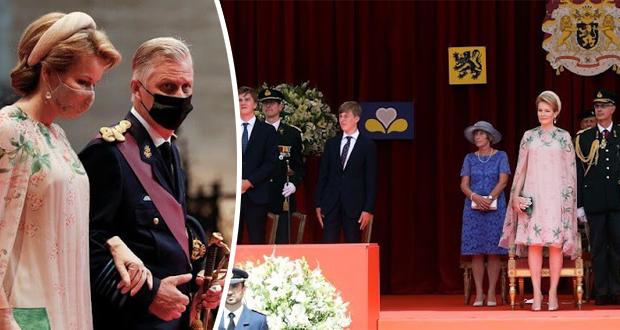 العائلة المالكة البلجيكية تحتفل بيومها الوطني