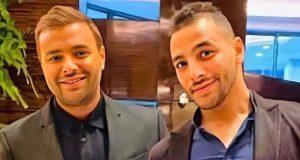 """حالة اكتئاب"".. ديو غنائي يجمع رامي صبري وشقيقه الراحل كريم"