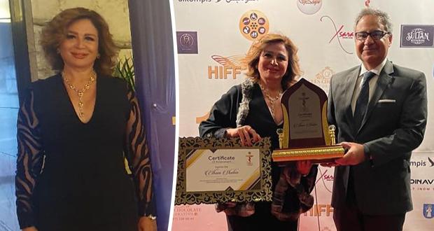 إلهام شاهين تُشارك في مهرجان الأمل السينمائي بـ ستوكهولم