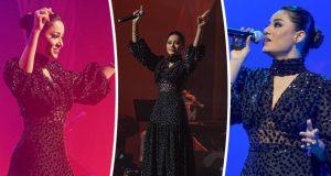 رحمة رياض تشعل أجواء حفلها في مهرجان قطر للتسوق